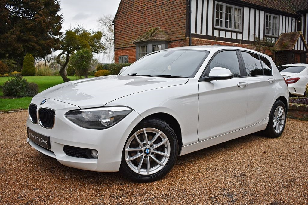 used BMW 118d SE in in-kent
