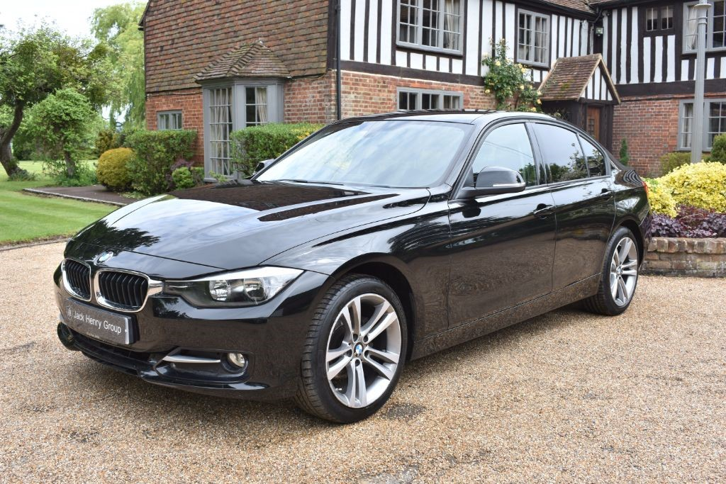 used BMW 318d 3 Series Sport 4dr (start/stop) in in-kent