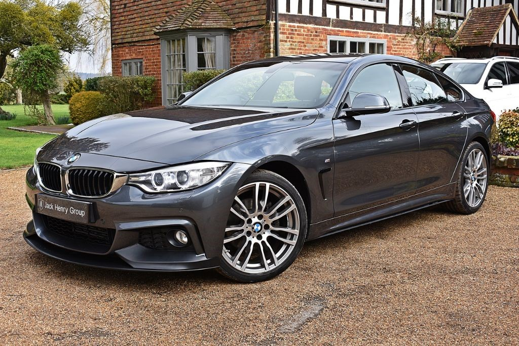 used BMW 420d M SPORT GRAN COUPE in in-kent