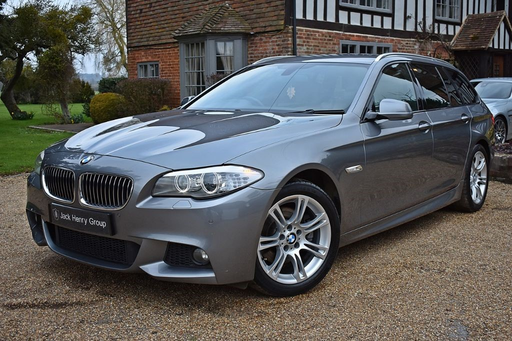 used BMW 520d M SPORT TOURING in in-kent