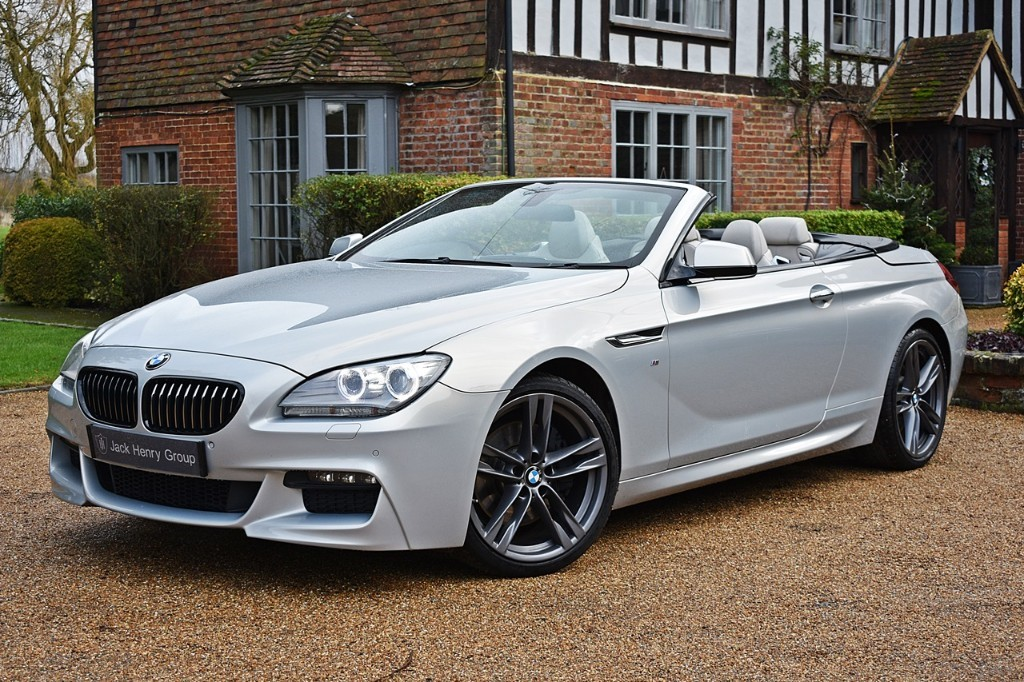 used BMW 640d M SPORT in in-kent