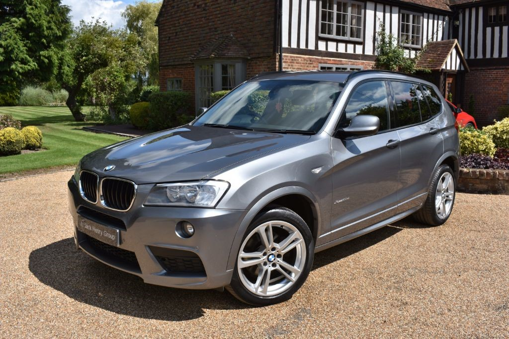 used BMW X3 XDRIVE20D M SPORT in in-kent
