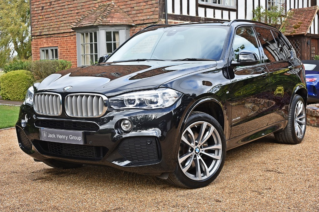 used BMW X5 XDRIVE40D M SPORT in in-kent