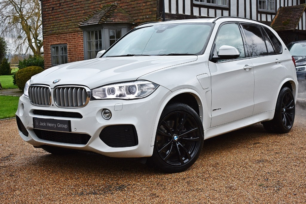 used BMW X5 XDRIVE40E M SPORT in in-kent