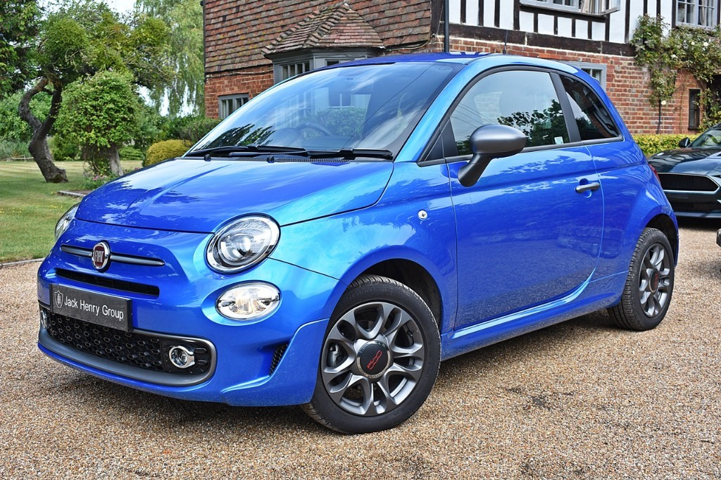 used Fiat 500 S in in-kent