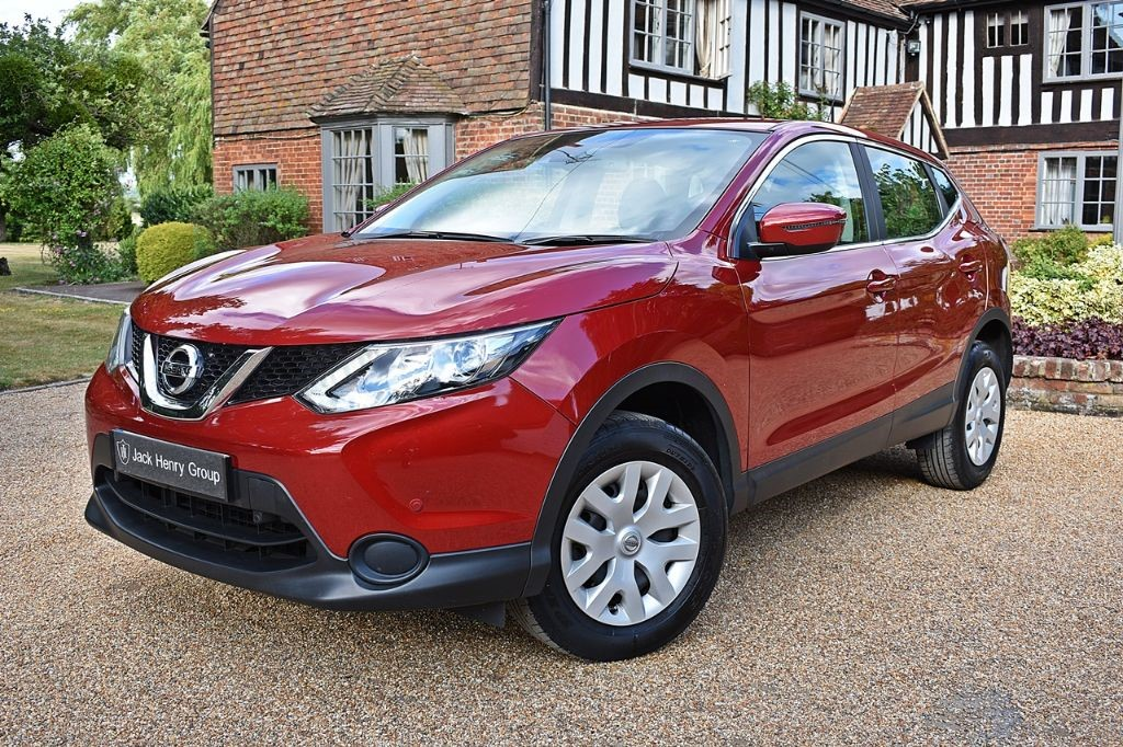 used Nissan Qashqai 1.5DCI VISIA 5DR in in-kent
