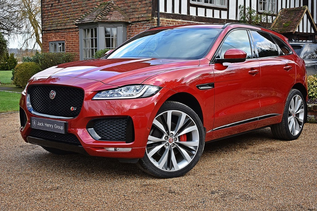 used Jaguar F-Pace V6 S AWD in in-kent