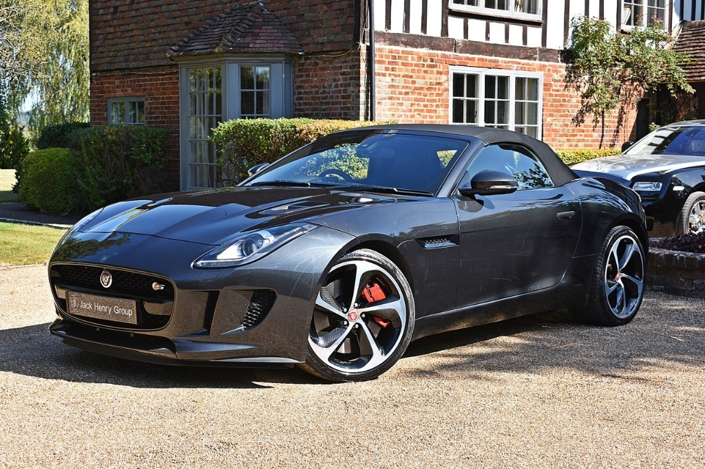 used Jaguar F-Type V6 S AWD in in-kent