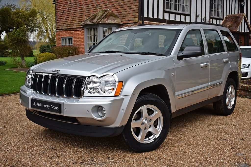 used Jeep Grand Cherokee V6 CRD LIMITED in in-kent