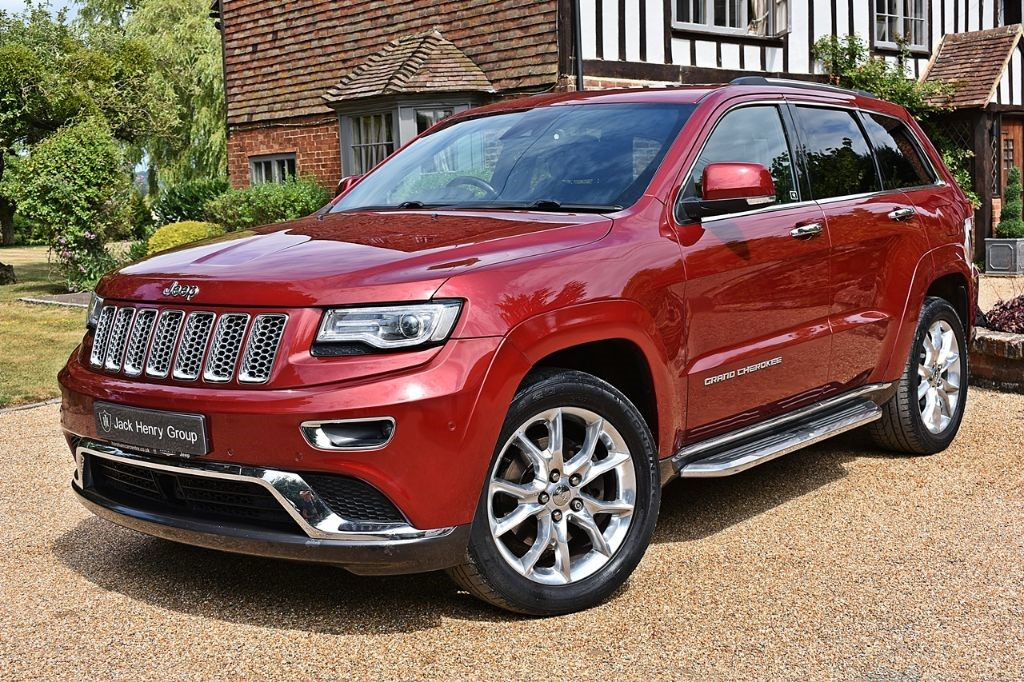 used Jeep Grand Cherokee V6 CRD SUMMIT in in-kent