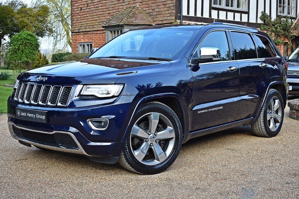 used Jeep Grand Cherokee V6 CRD OVERLAND in in-kent