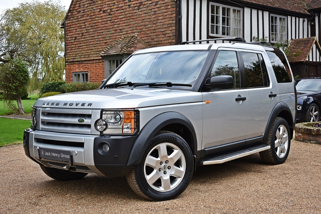 used Land Rover Discovery TDV6 HSE E4 in in-kent