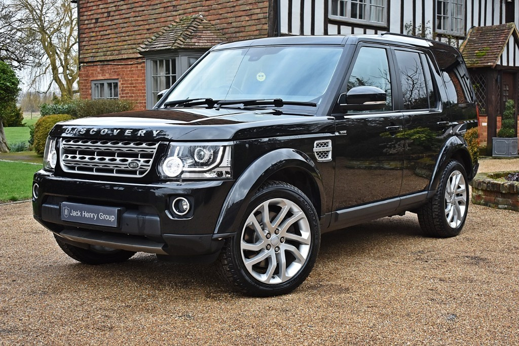 used Land Rover Discovery SDV6 HSE in in-kent