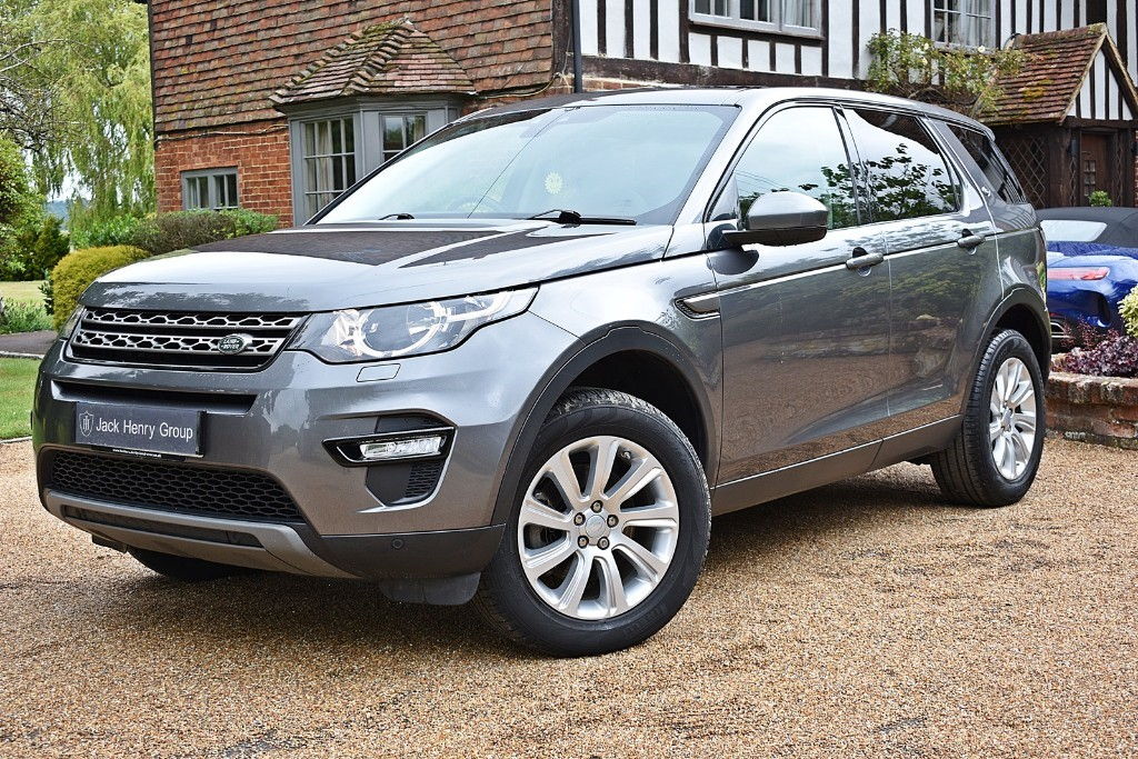 used Land Rover Discovery Sport TD4 SE TECH in in-kent