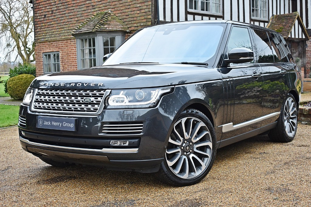 used Land Rover Range Rover SDV8 AUTOBIOGRAPHY in in-kent
