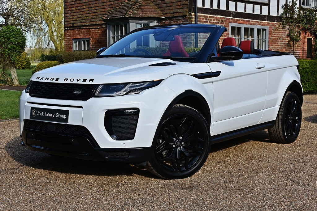 used Land Rover Range Rover Evoque SI4 HSE DYNAMIC in in-kent