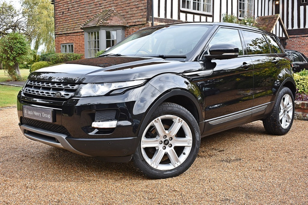 used Land Rover Range Rover Evoque SD4 PURE TECH in in-kent