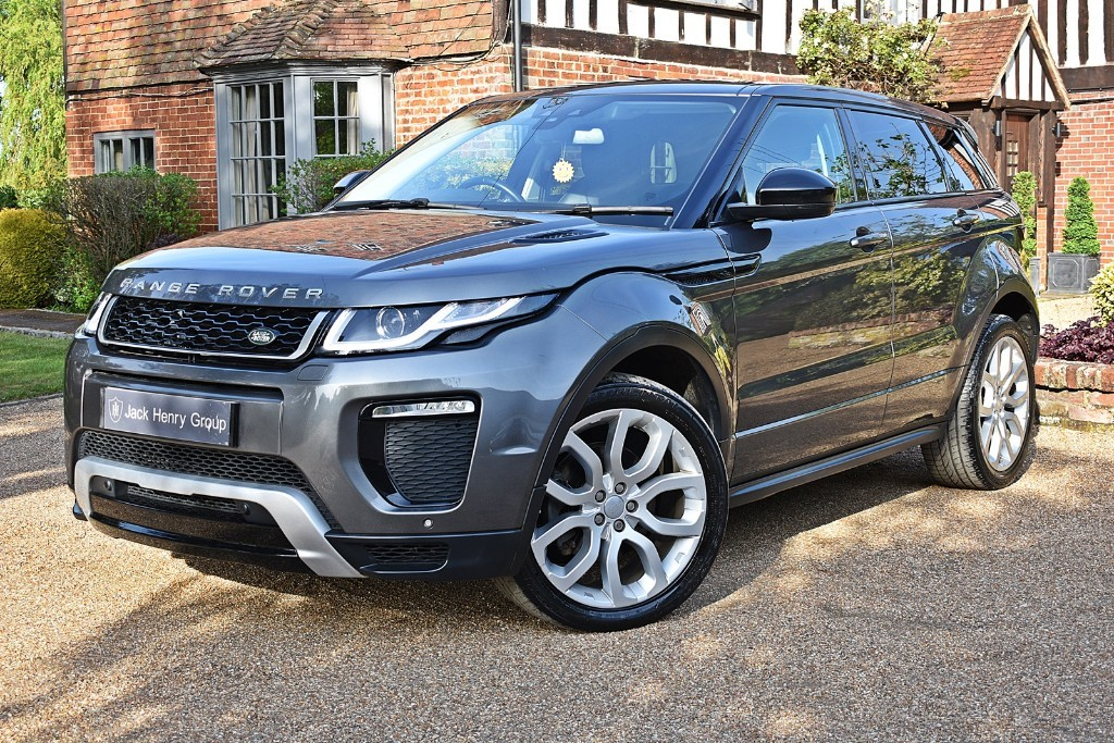 used Land Rover Range Rover Evoque TD4 HSE DYNAMIC in in-kent