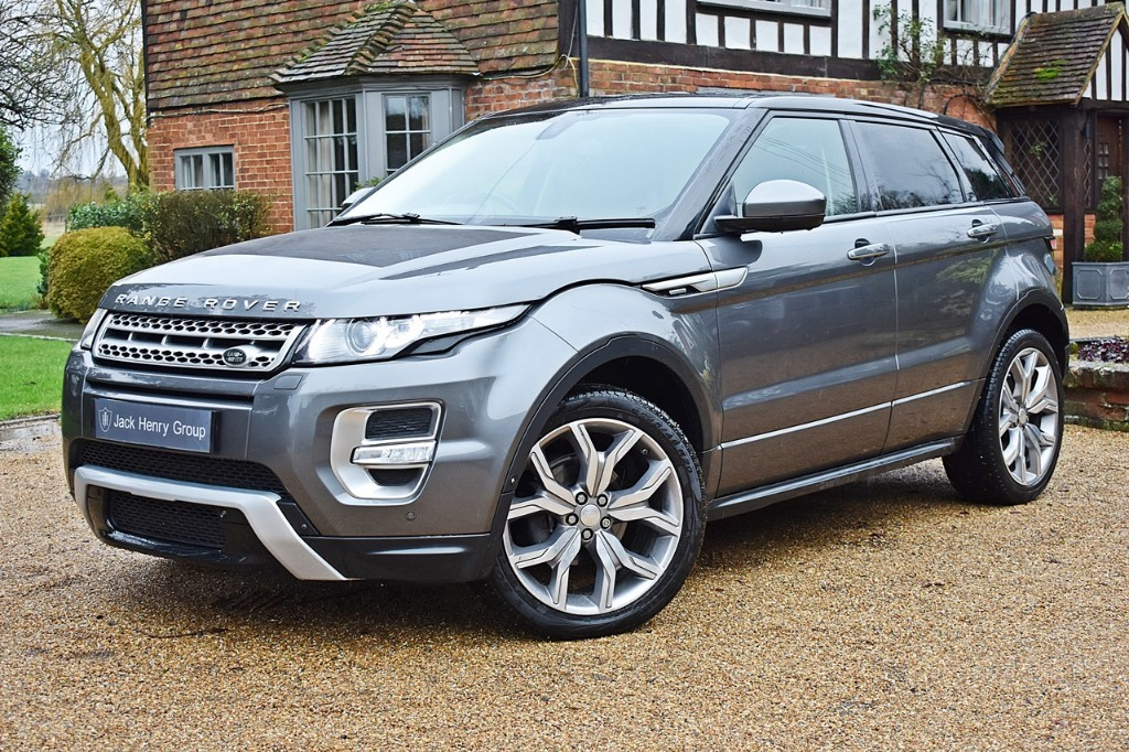used Land Rover Range Rover Evoque SD4 AUTOBIOGRAPHY in in-kent