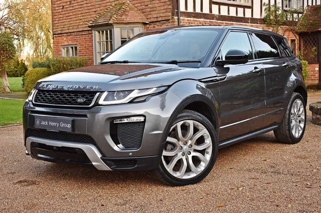 used Land Rover Range Rover Evoque TD4 HSE DYNAMIC LUX in in-kent