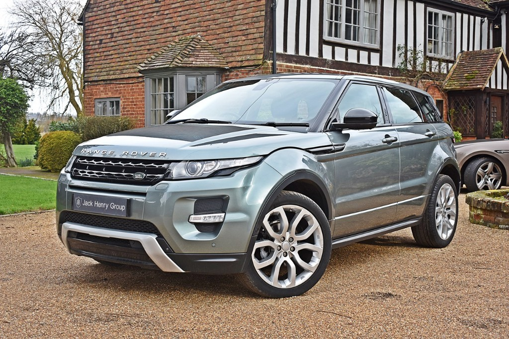 used Land Rover Range Rover Evoque SD4 DYNAMIC LUX in in-kent