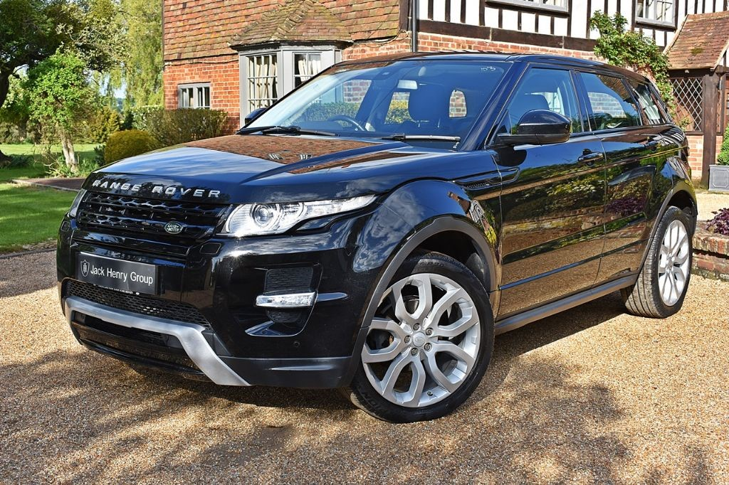 used Land Rover Range Rover Evoque SD4 DYNAMIC in in-kent