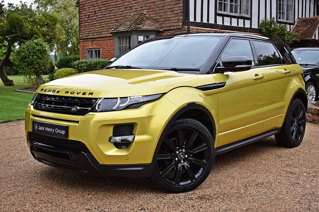 used Land Rover Range Rover Evoque SD4 SPECIAL EDITION in in-kent