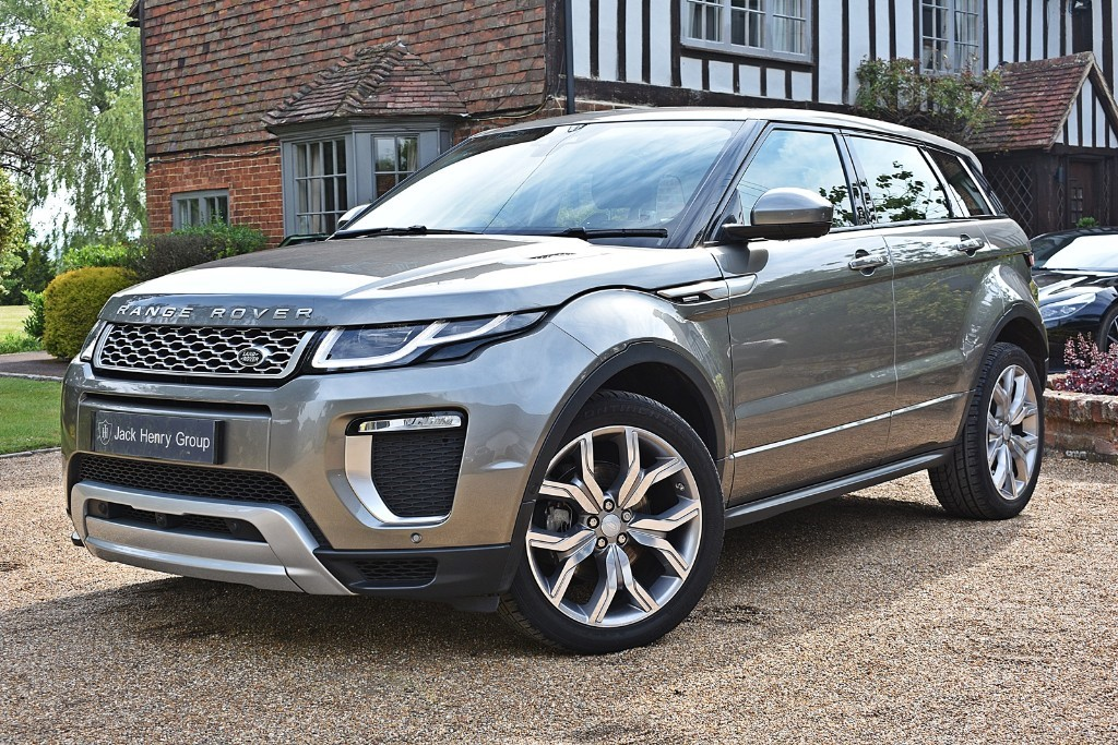 used Land Rover Range Rover Evoque TD4 AUTOBIOGRAPHY in in-kent