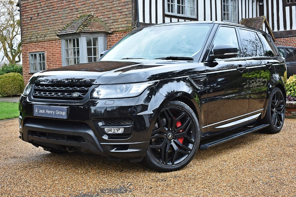 used Land Rover Range Rover Sport SDV6 AUTOBIOGRAPHY DYNAMIC in in-kent