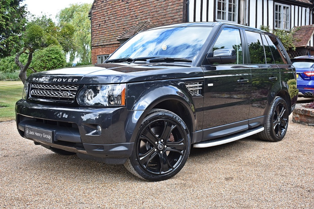 used Land Rover Range Rover Sport SDV6 HSE BLACK in in-kent