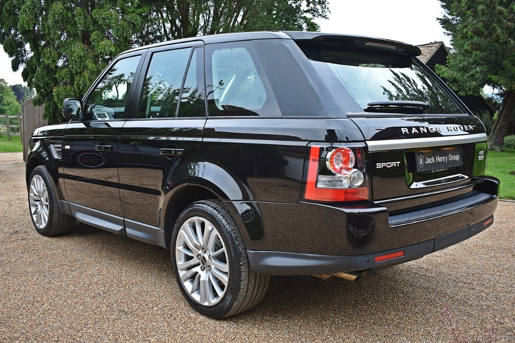 Used Santorini Black Land Rover Range Rover Sport for Sale | Kent