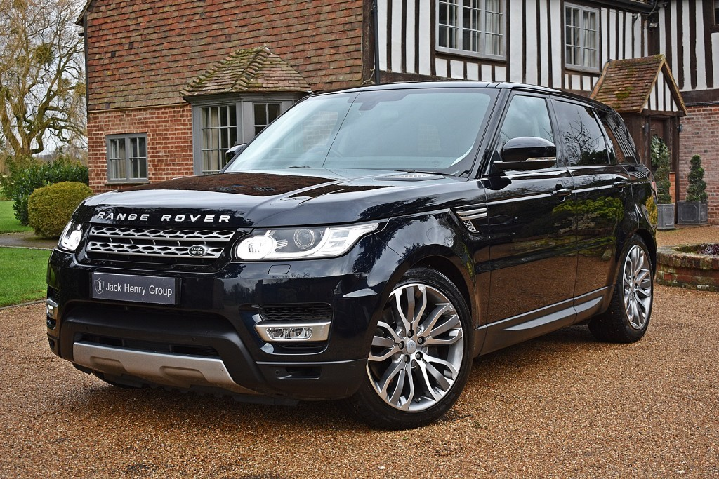 used Land Rover Range Rover Sport SDV6 HSE in in-kent