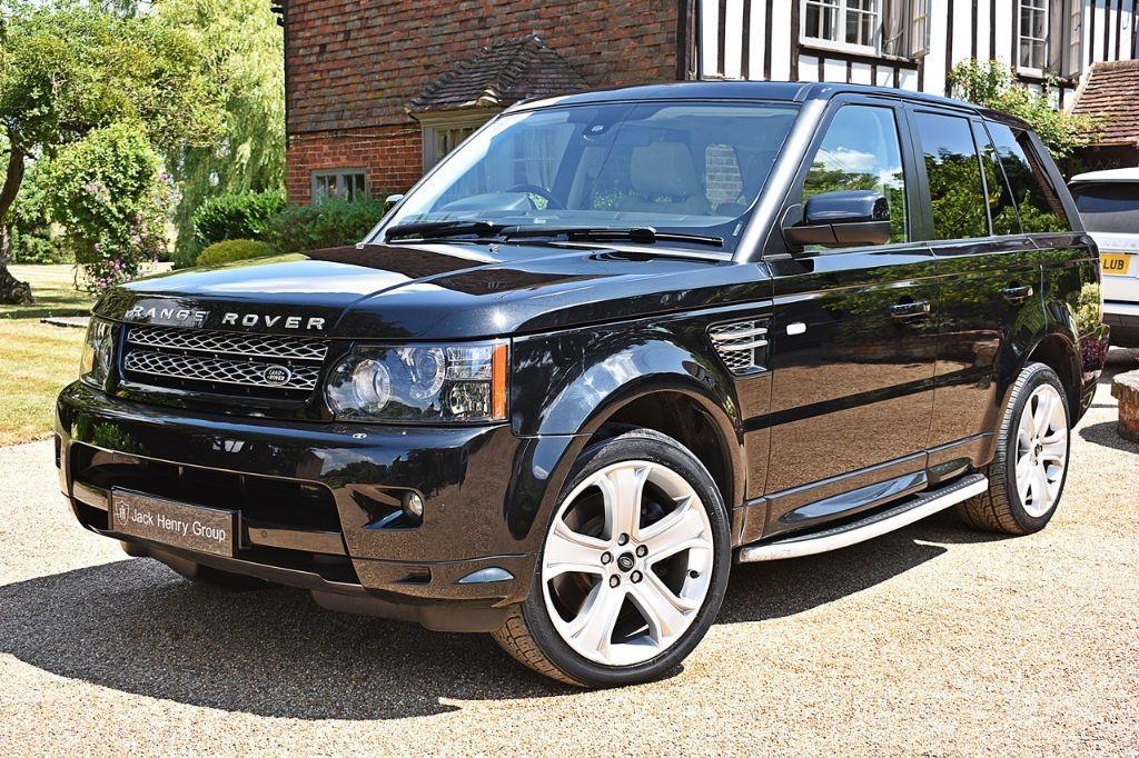 used Land Rover Range Rover Sport SDV6 HSE BLACK in in-kent