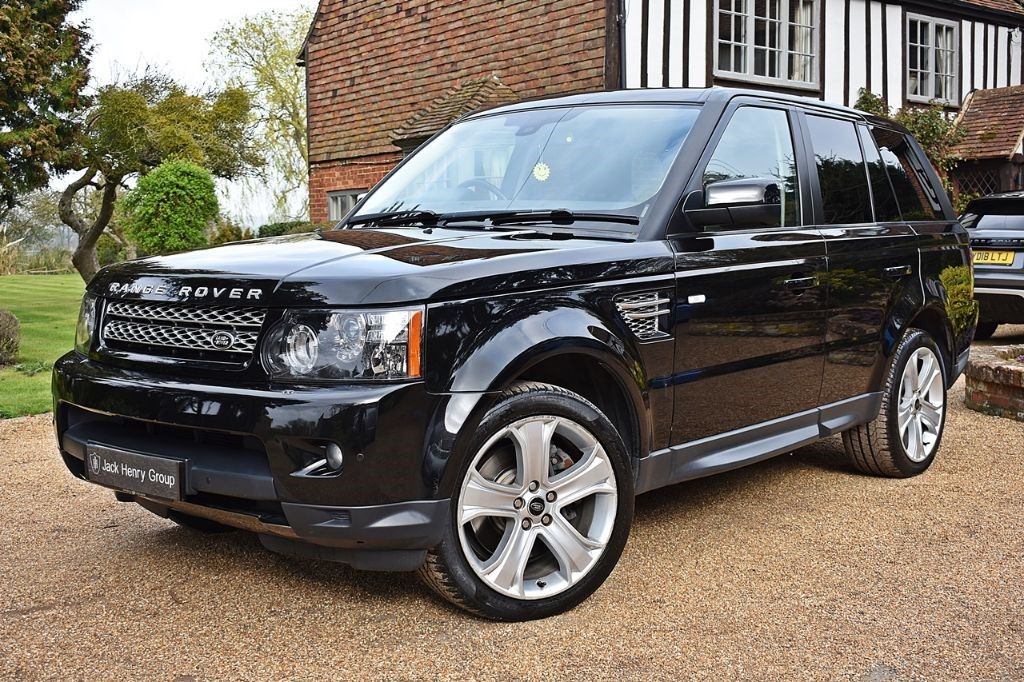 Land Rover Range Sport Sdv6 Hse Black
