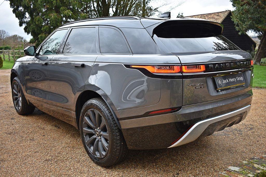 used grey land rover range rover velar for sale kent. Black Bedroom Furniture Sets. Home Design Ideas