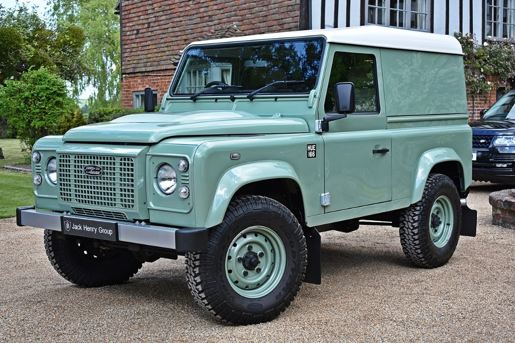 used Land Rover Defender TD HERITAGE HARD TOP in in-kent