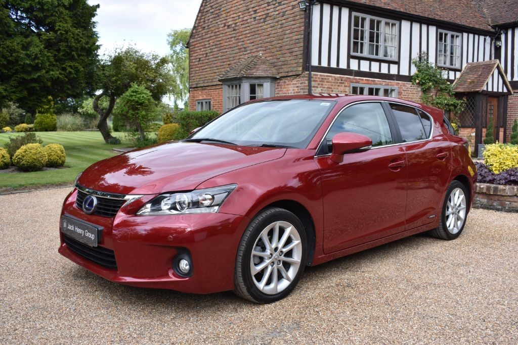 used Lexus CT 200h 1.8 Luxury CVT 5dr in in-kent