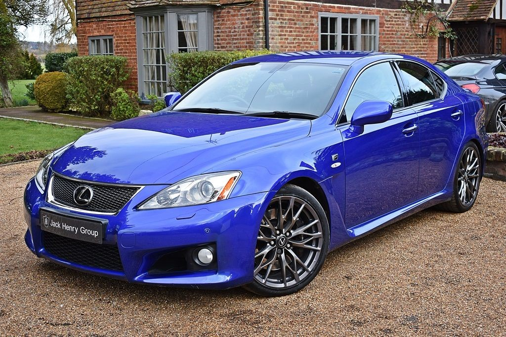 sale saloon isf for f blue in kent is petrol used lexus