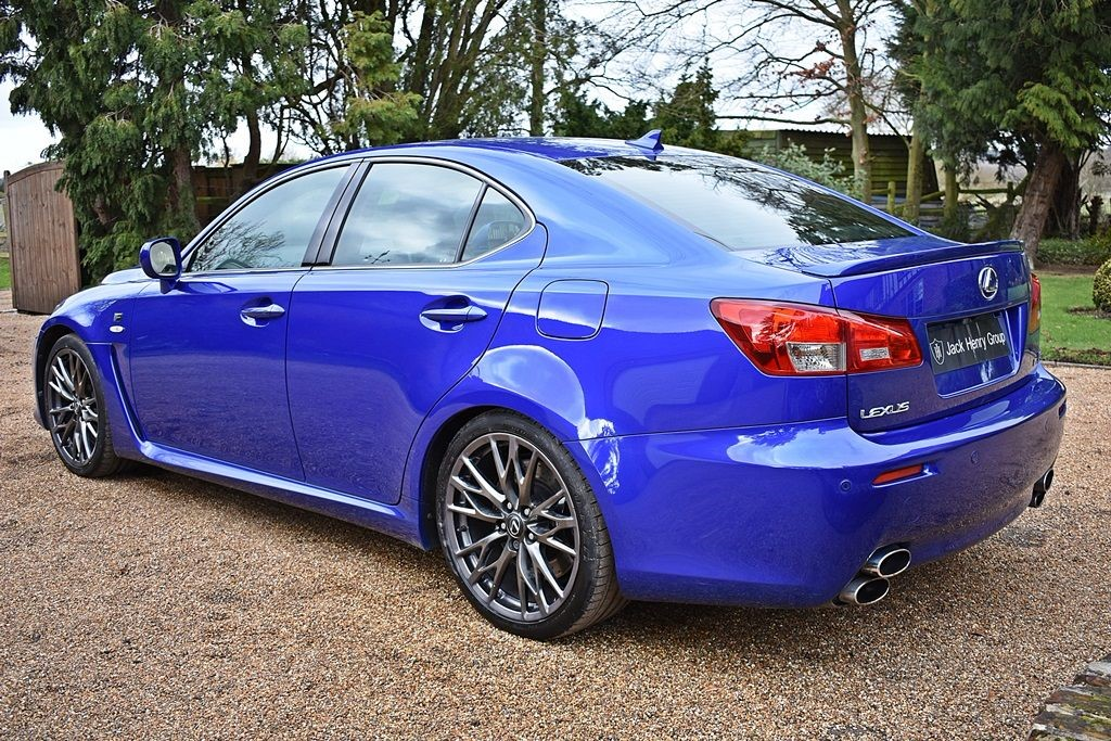 used blue lexus is f for sale kent. Black Bedroom Furniture Sets. Home Design Ideas