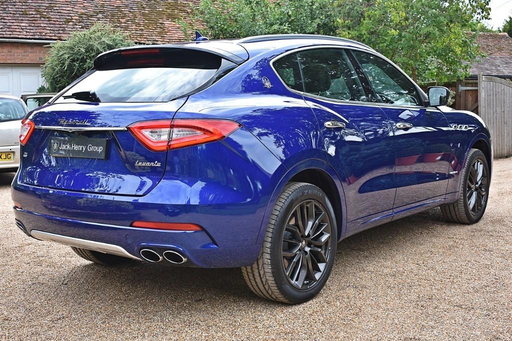 Used Blu Emozione Maserati Levante for Sale   Kent