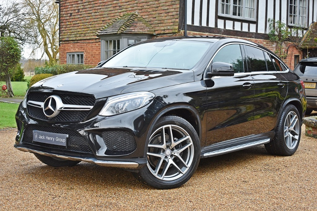 used Mercedes 350 GLE  D 4MATIC AMG LINE PREMIUM in in-kent