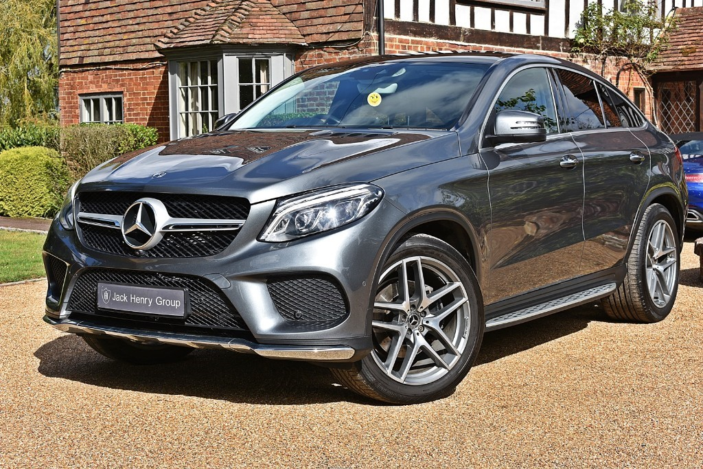 used Mercedes 350 GLE  D 4MATIC AMG LINE PREMIUM PLUS in in-kent