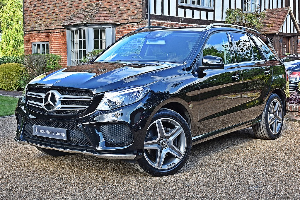 used Mercedes 350 GLE  D 4MATIC AMG LINE in in-kent