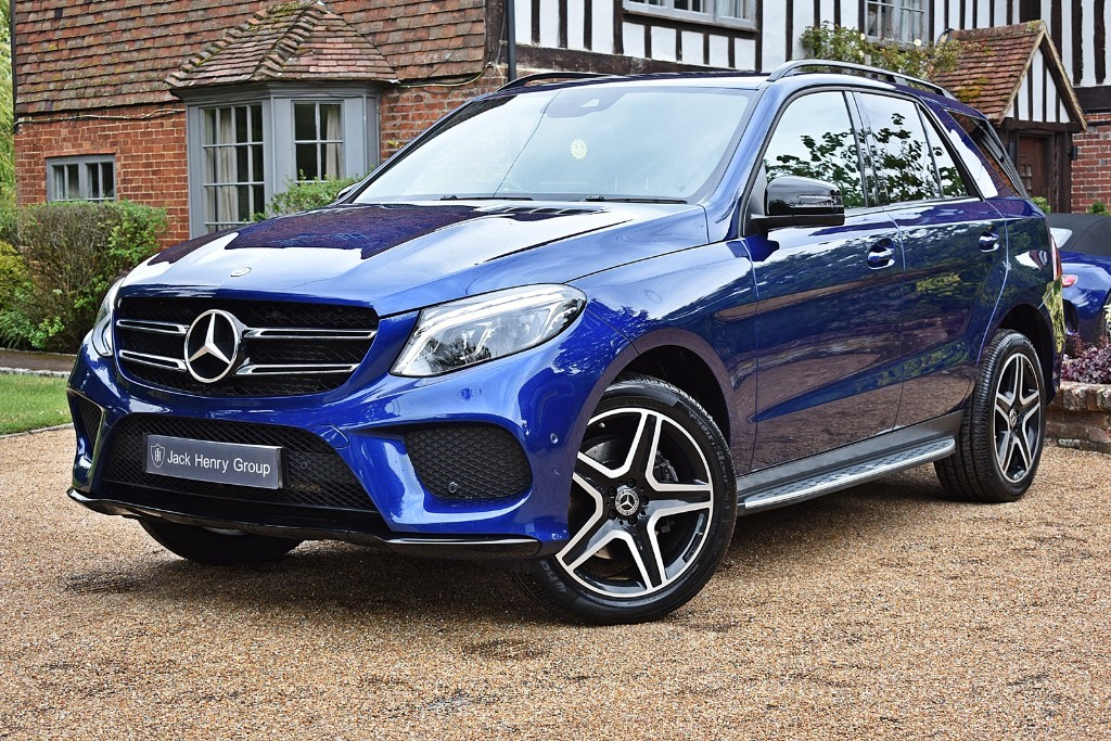 used Mercedes 350 GLE  D 4MATIC AMG NIGHT EDITION in in-kent