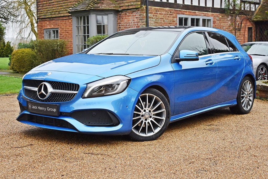 used Mercedes A180 AMG LINE PREMIUM PLUS in in-kent