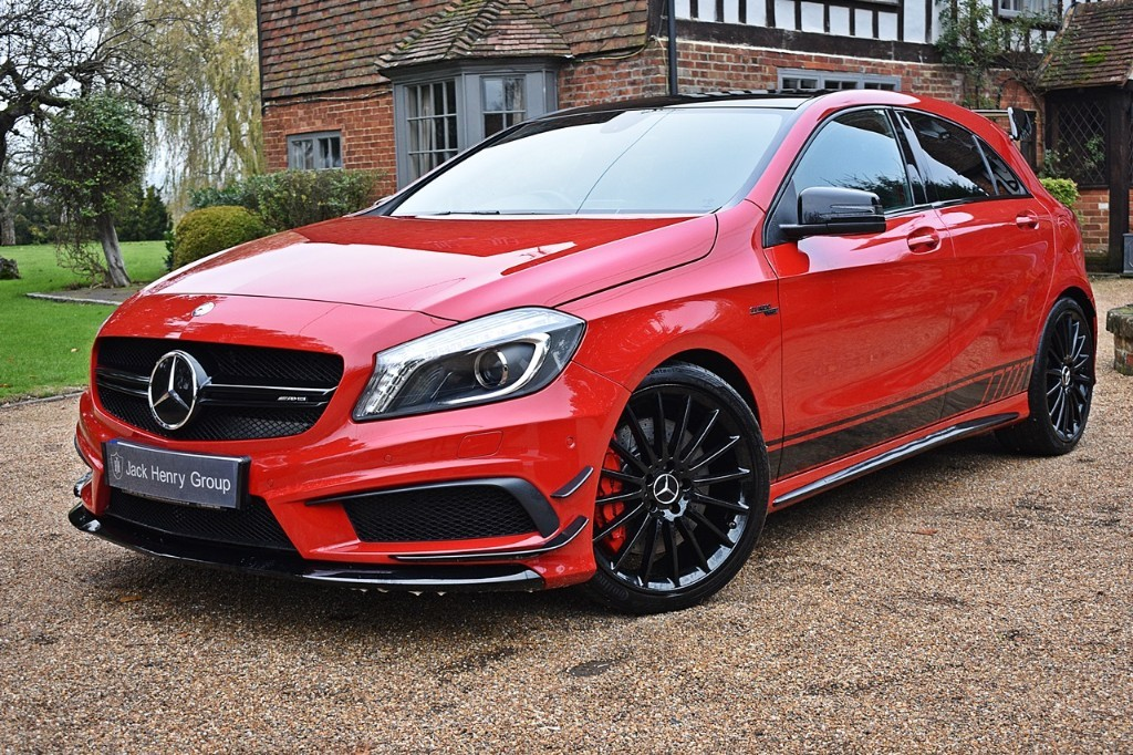 used Mercedes A45 AMG 4MATIC in in-kent