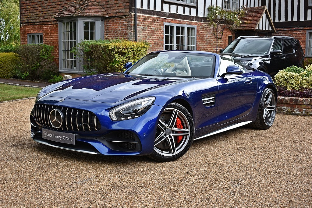 used Mercedes AMG GT Roadster in in-kent