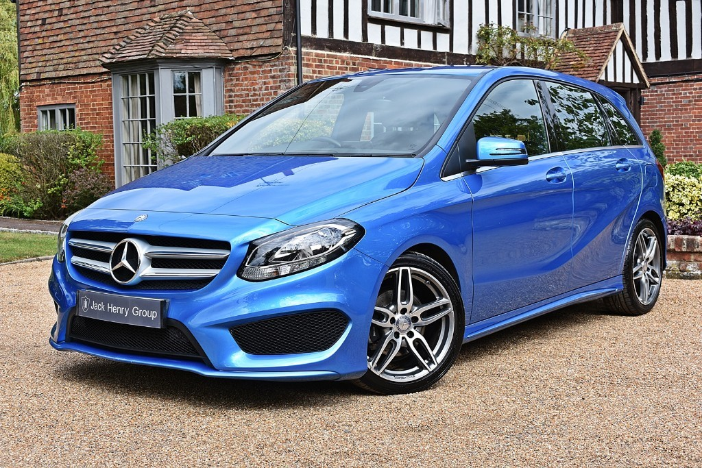 used Mercedes B180 D AMG LINE in in-kent