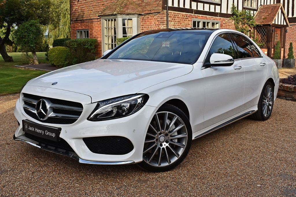 used Mercedes C250 D AMG LINE PREMIUM PLUS in in-kent