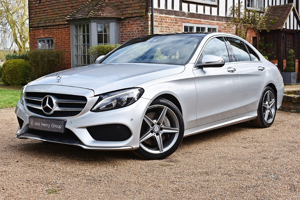 used Mercedes C300 H AMG LINE PREMIUM PLUS in in-kent